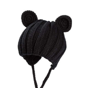 Teddy Knitted Winter Hat