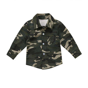 Camo Long Sleeve shirt - Infant Route