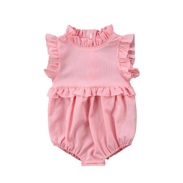 Classy Ruffle Romper - Infant Route