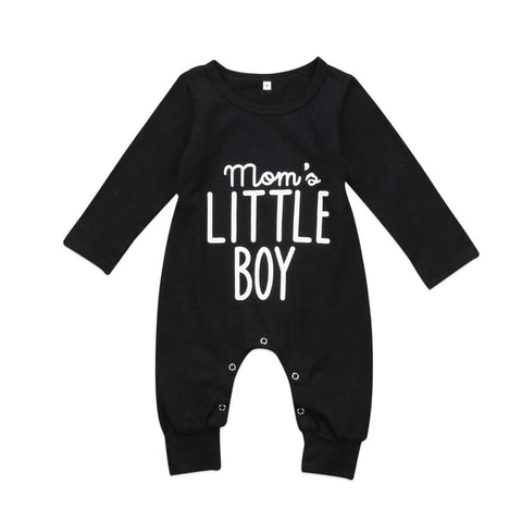 """moms little boy ""romper - Infant Route"