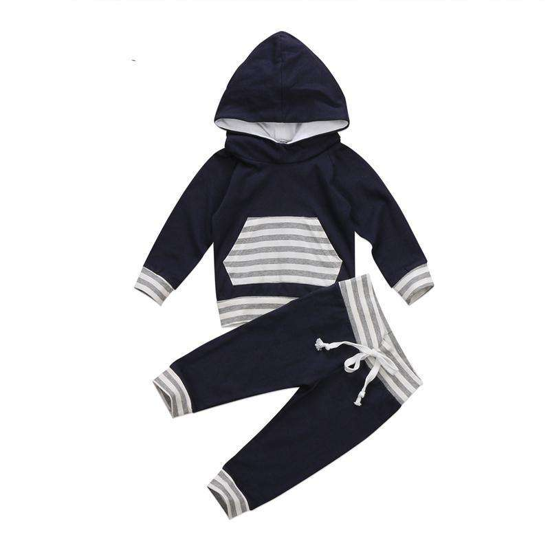 Hooded Top w. Sweat Pants - Infant Route