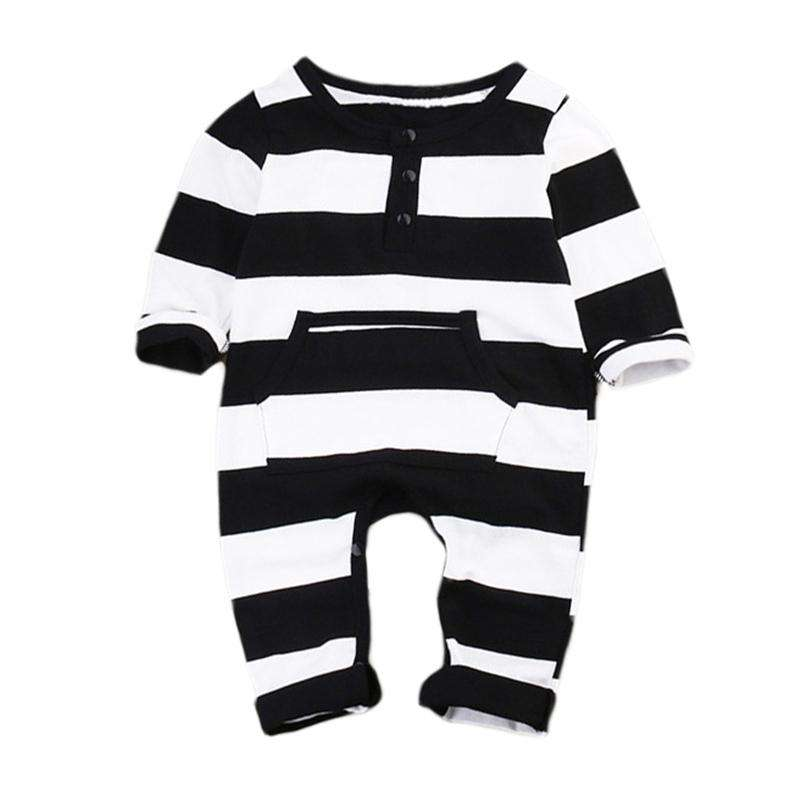 Striped Baby Boy Romper - Infant Route