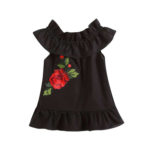 Black Dress w. Red Rose - Infant Route