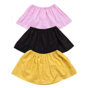 Baby Girls Sleeveless Tube Tops