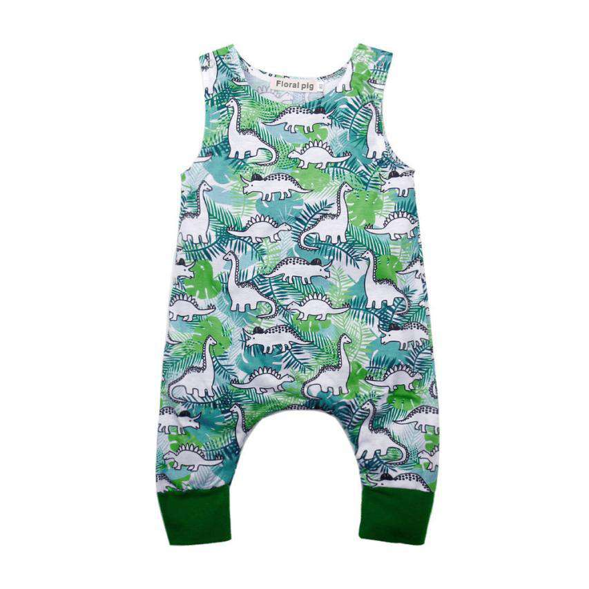Dinosaur Print Romper - Infant Route