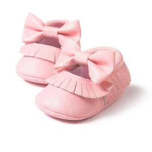 Tassel Baby Shoes w. Bowknot - Infant Route