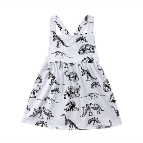 Dinosaur Sleeveless Dress