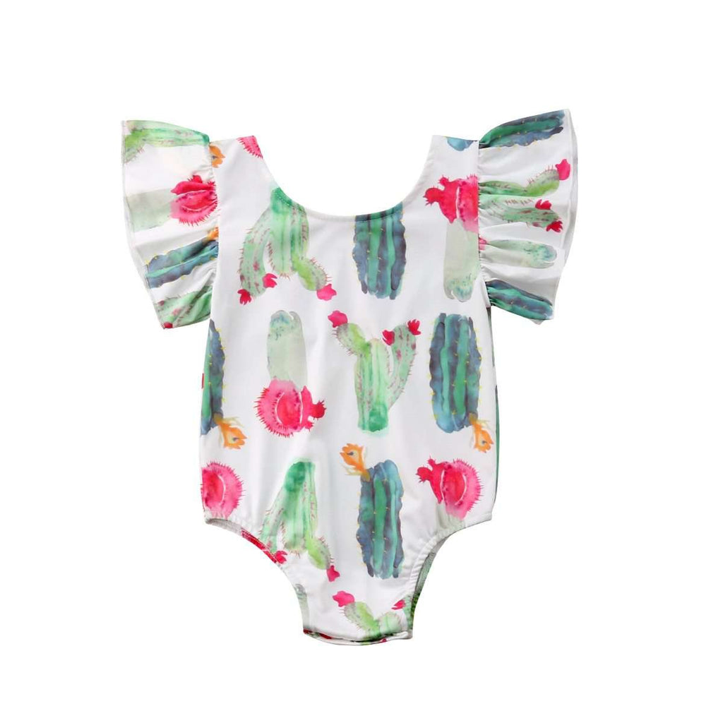 Water Color, Cactus Rompers - Infant Route