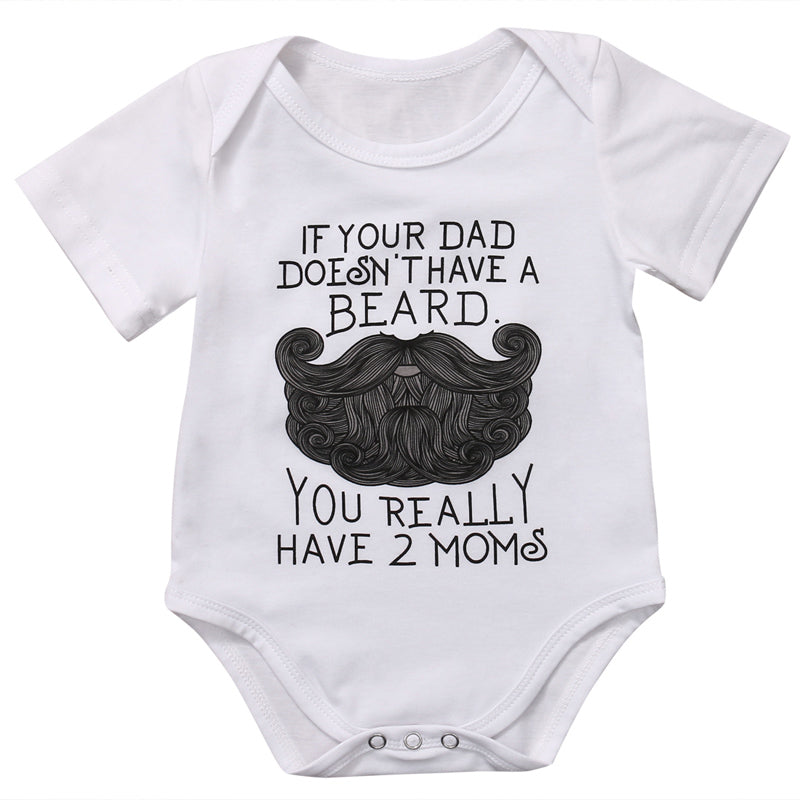 Daddy with a Beard Romper