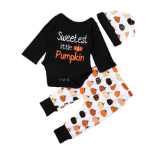 Sweetest Little Pumpkin 3 Pcs Set - Infant Route