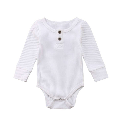 Long Sleeve Cotton Romper