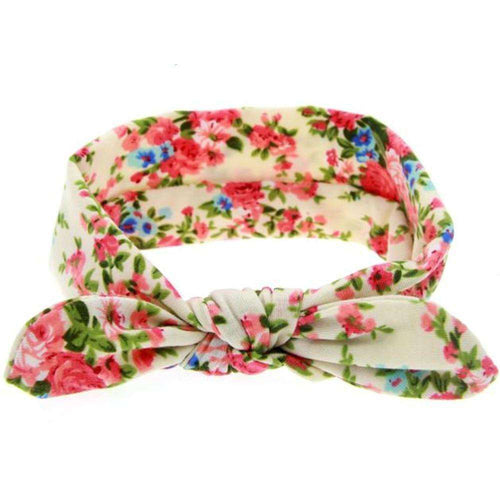 Floral Bow knot Headband