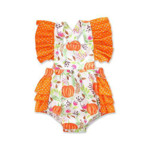 Lovely Ruffle Pumpkin Patch