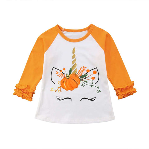 Autumn Unicorn Long Sleeve Shirt - Infant Route