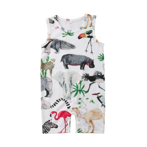 Beautiful Animal romper - Infant Route