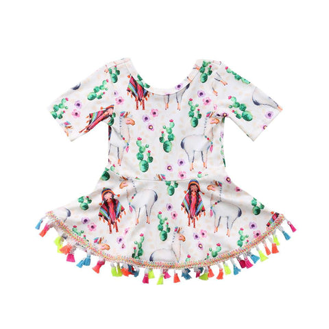 Boho Tassel Dress - Infant Route