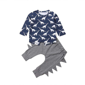 Long Sleeve Dinosaur Outfit set