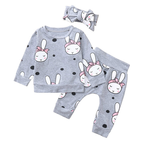 Adorable Relaxed Bunny Set
