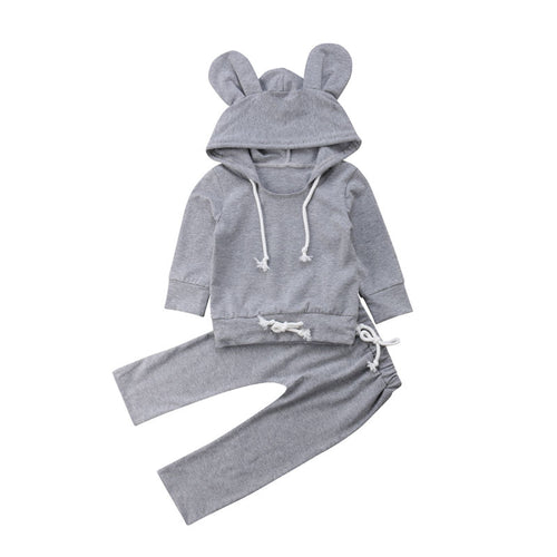 Big Ears Grey Hoodie + Pants