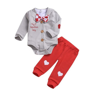 3pcs Boy's Valentine Set