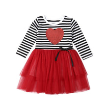Striped Heart Tutu