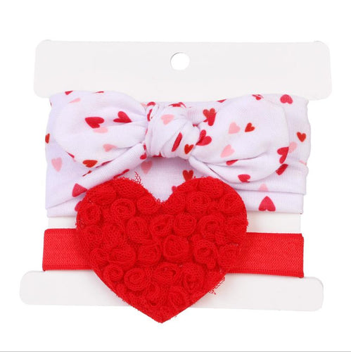 Heart Full of Roses, Headband Set