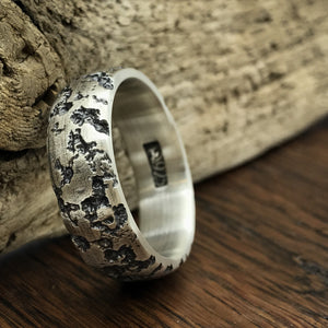 Corrosion - Textured Sterling Silver Ring