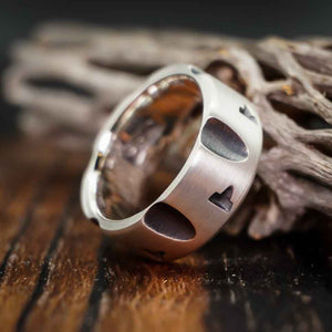 Outlaw - Sterling Silver Revolver Ring