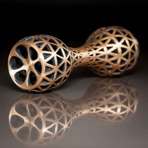 Thumbbell Delta Edition -  Brushed Bronze Knuckle Roller