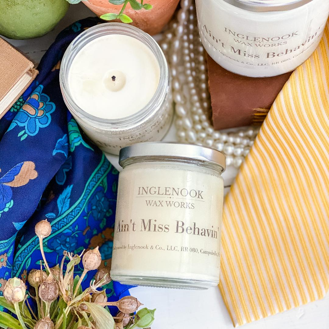 Ain't Miss Behavin' - Handmade Soy Candle