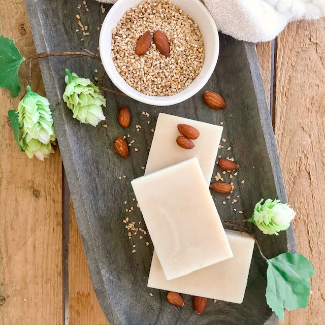 Almond and Oatmeal - Handmade Oatmeal Soap