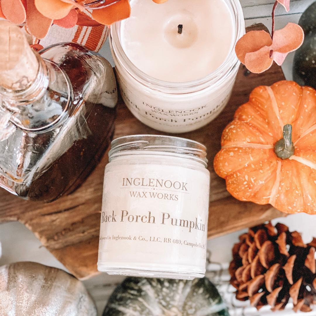 Back Porch Pumpkin - Handmade Soy Candle