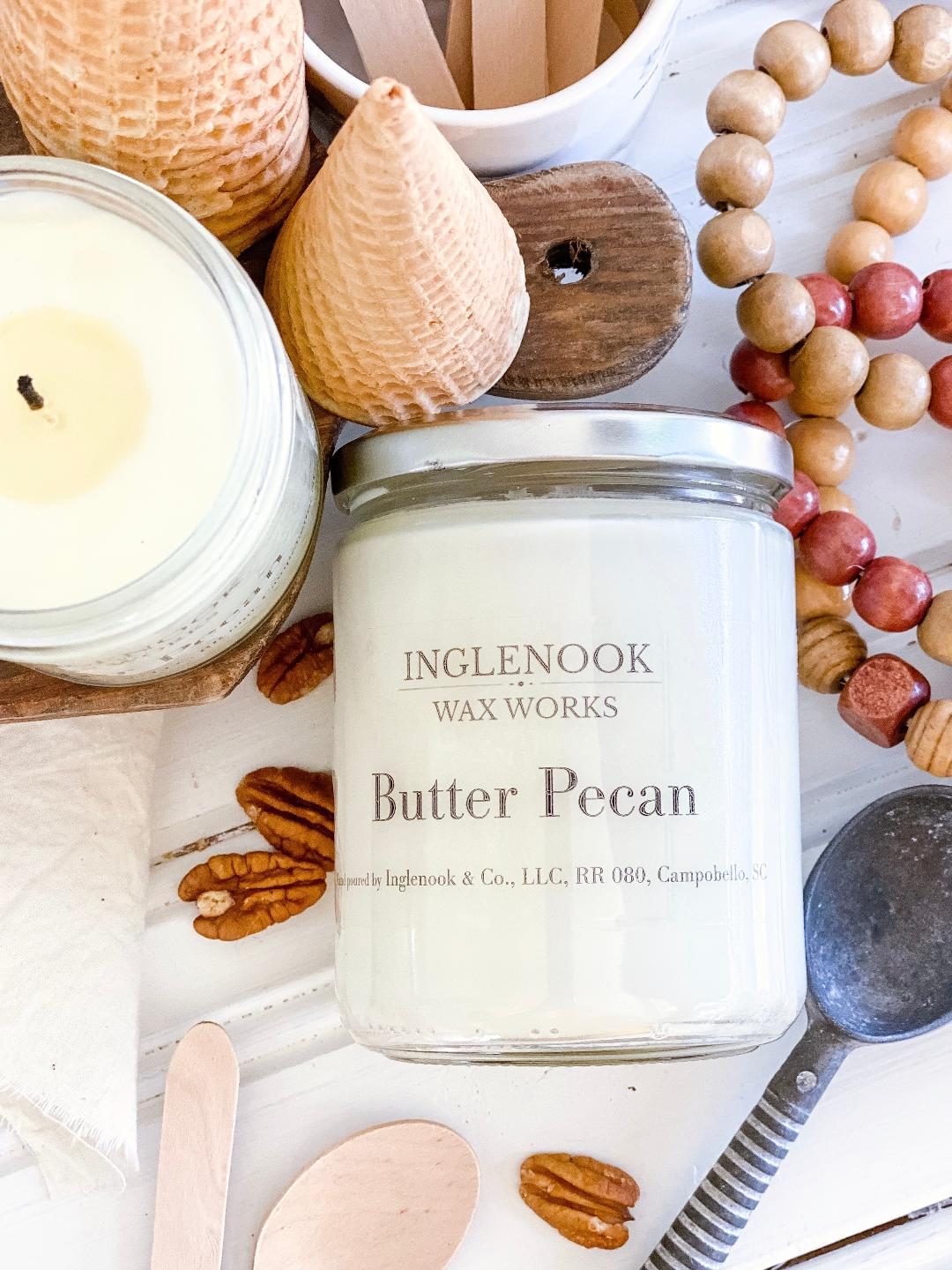 Butter Pecan - Handmade Soy Candle