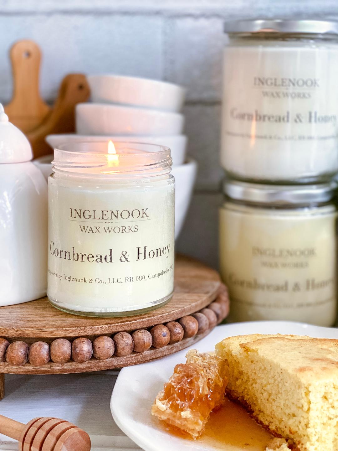 Cornbread & Honey - Handmade Soy Candle
