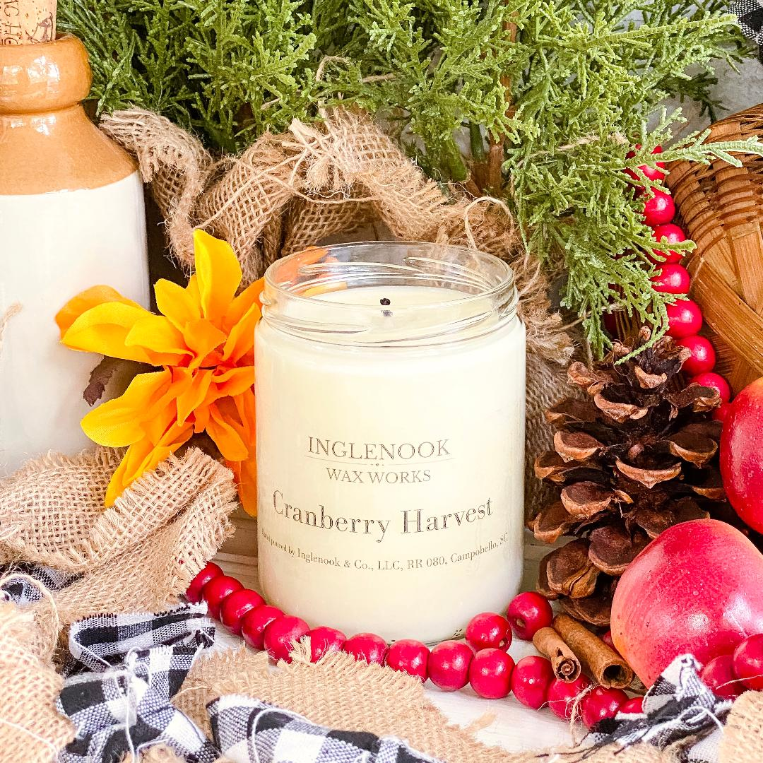 Cranberry Harvest - Handmade Soy Candle