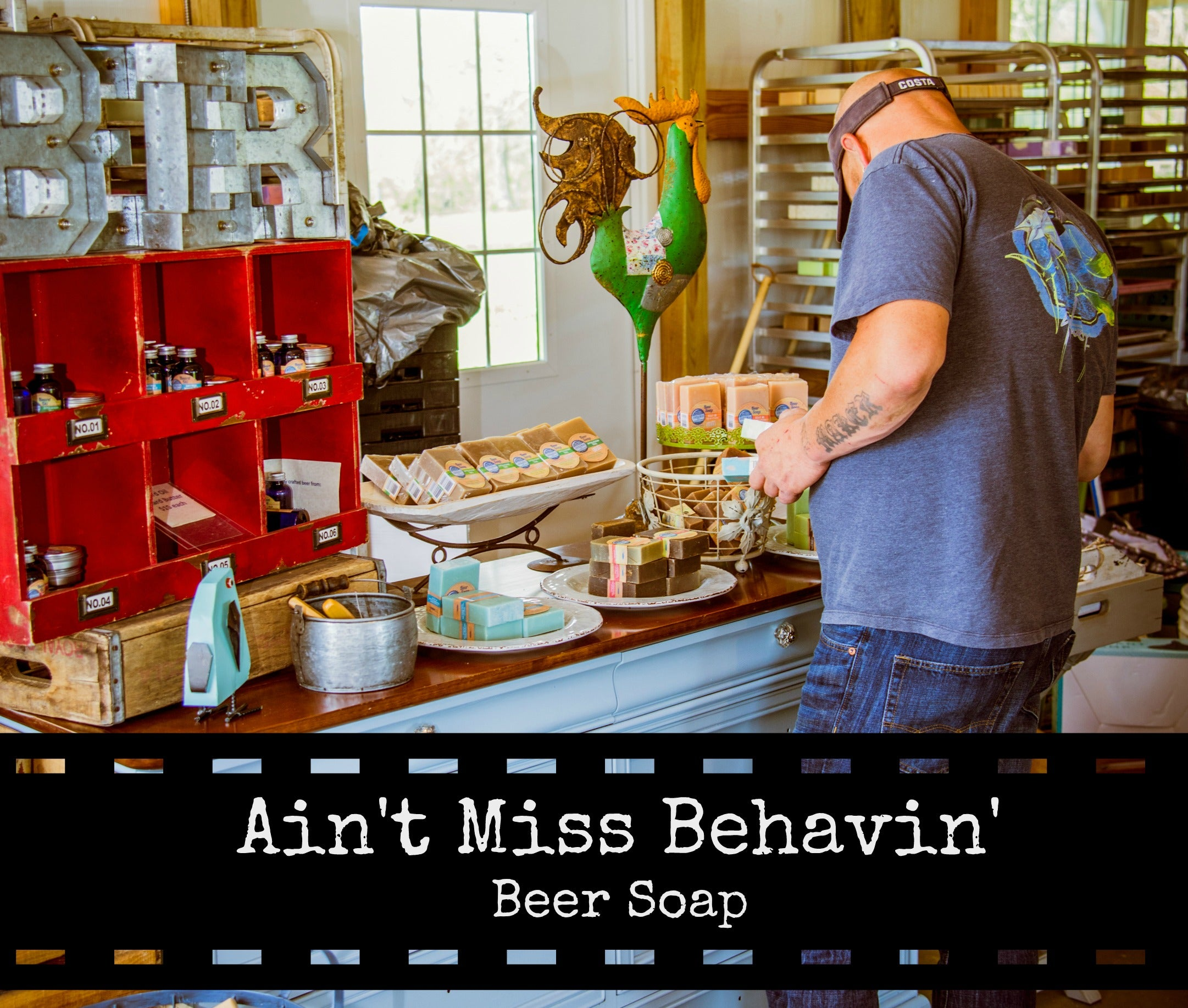 Ain't Miss Behavin' Handcrafted Beer Soap