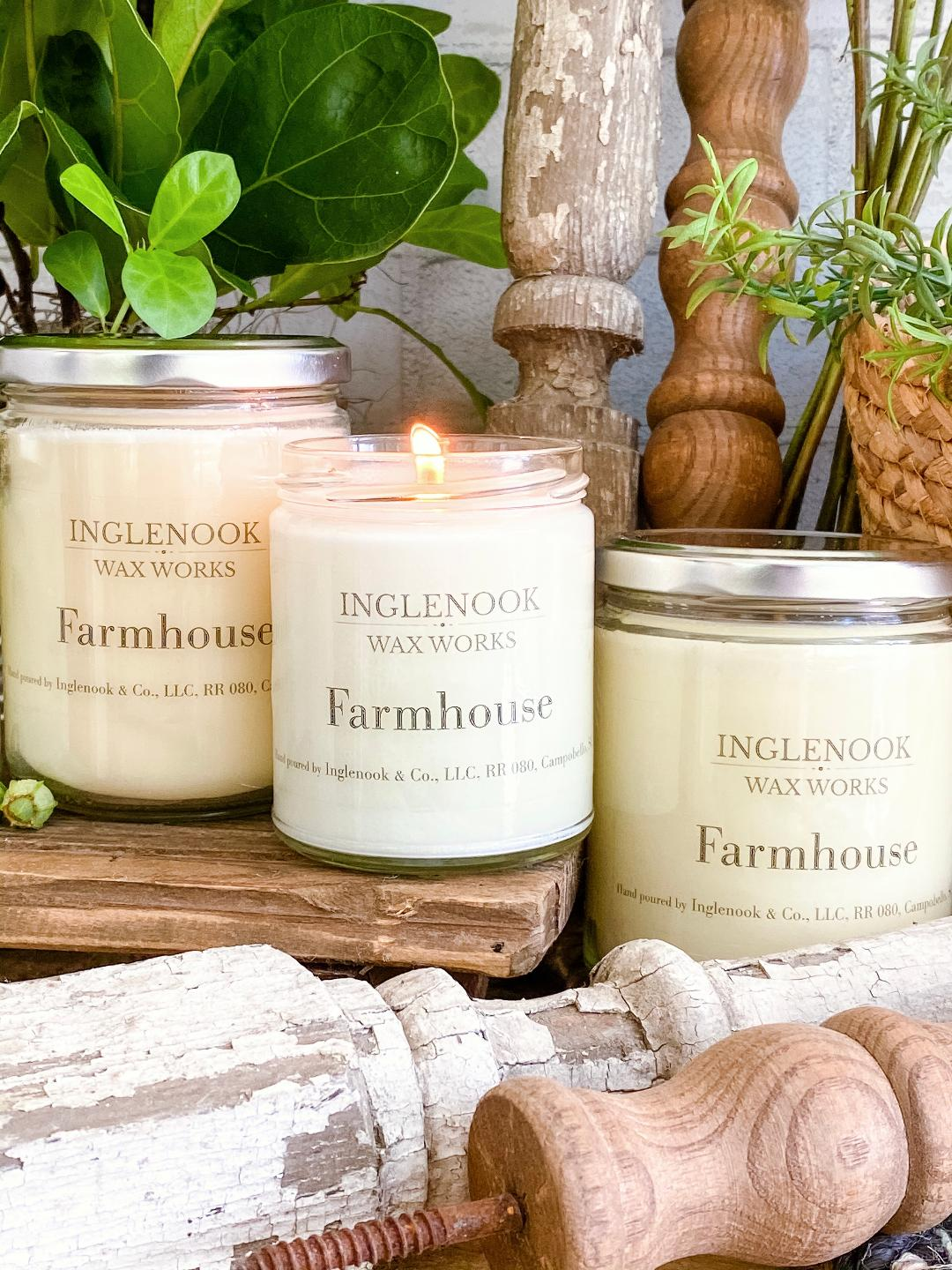 Farmhouse - Handmade Soy Candle