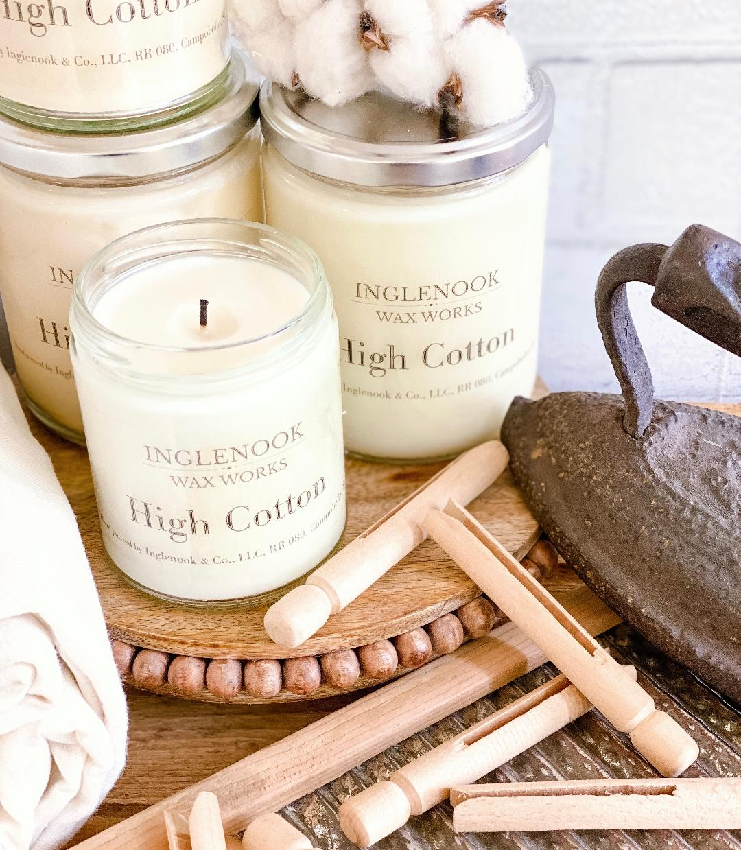 High Cotton - Handmade Soy Candle