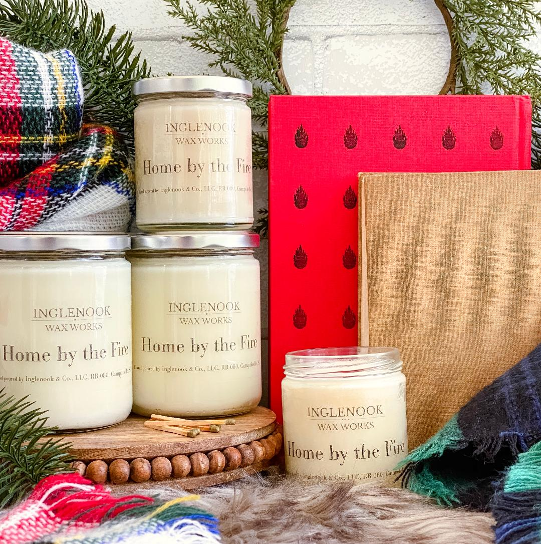 Home by the Fire - Handmade Soy Candle