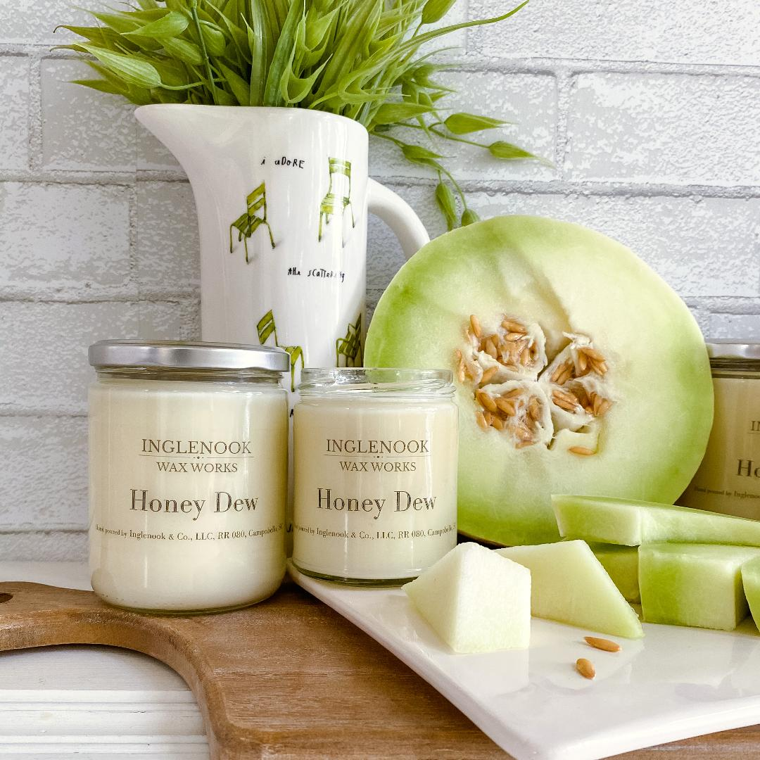 Honey Dew - Handmade Soy Candle