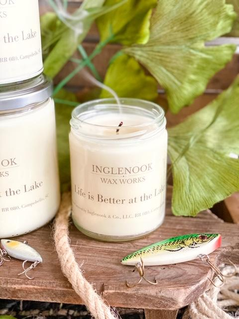Life is Better at the Lake - Handmade Soy Candle
