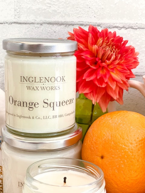 Orange Squeeze - Handmade Soy Candle
