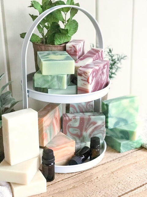 4 Soap Bundle - Essential Oil Handmade Soap
