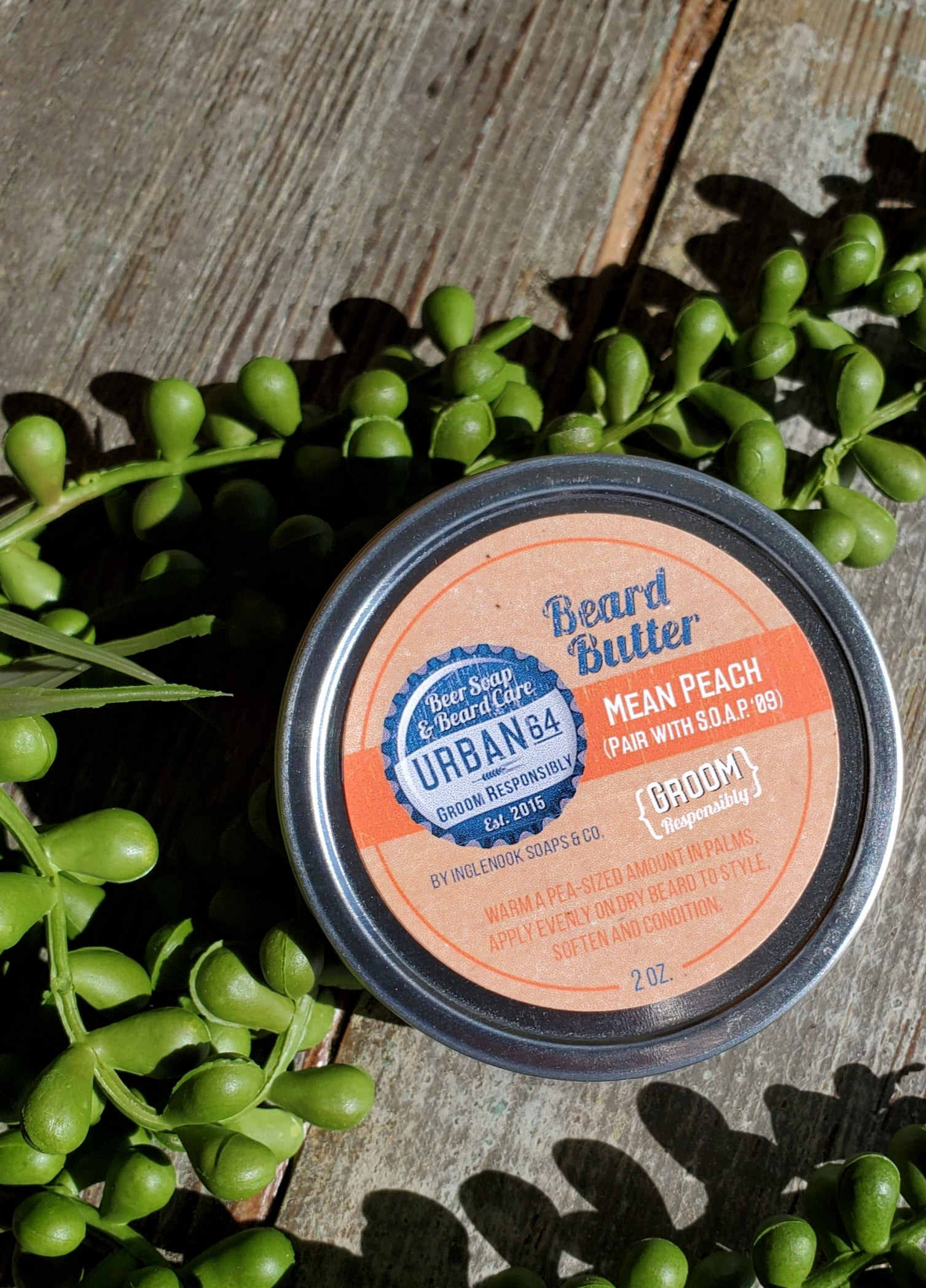 Mean Peach - Urban 64 Beard Butter