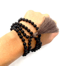 Load image into Gallery viewer, Smoky Quartz Tassel Mala for Stress Relief, Deep Healing, & Energy Cleansing