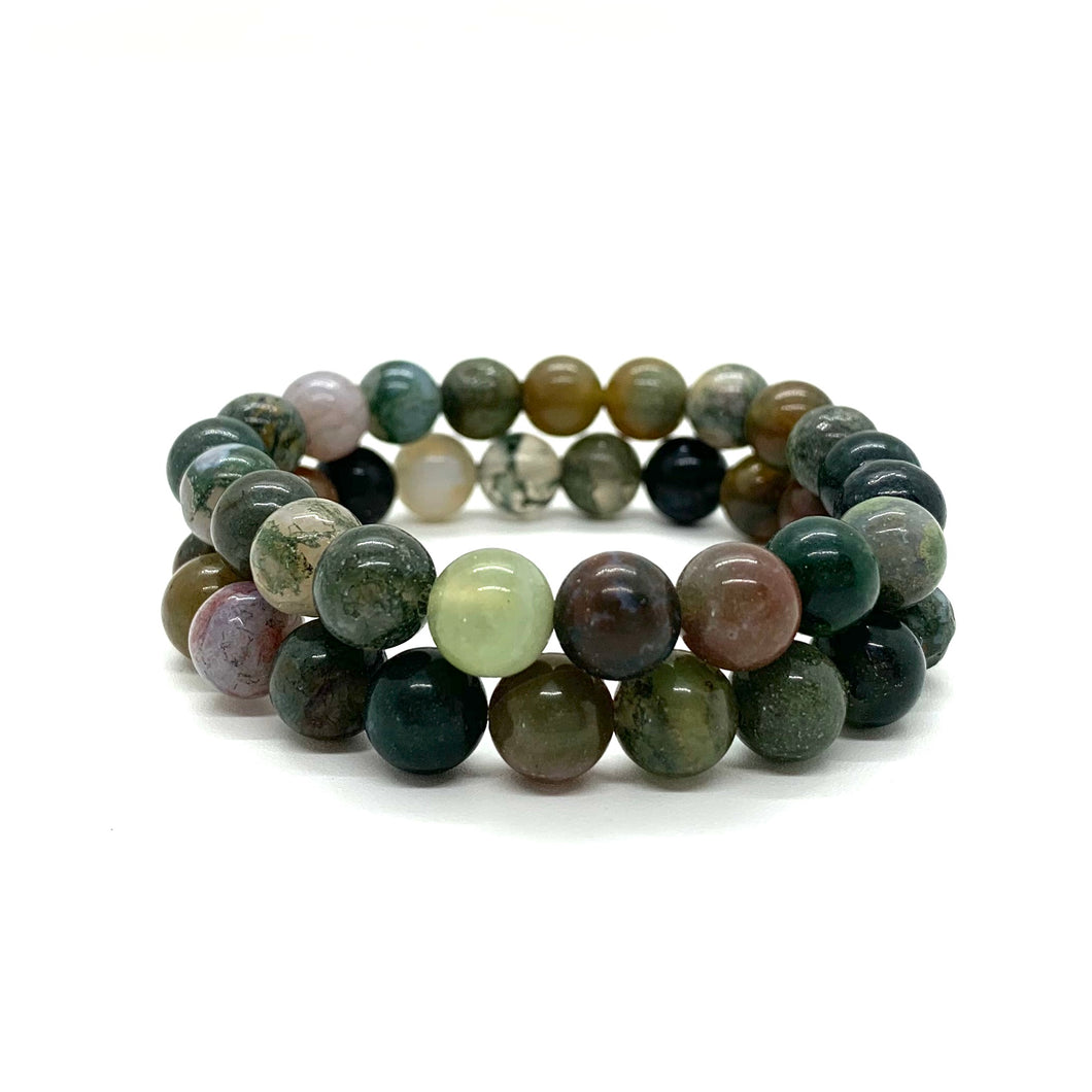 Jade Bracelet Set for Prosperity, Love, & Abundance
