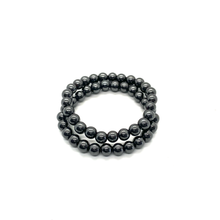 Load image into Gallery viewer, Hematite Bracelet Set for Balance & Grounding