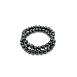 Hematite Bracelet Set for Balance & Grounding
