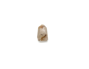 Rutilated Quartz Crystal Point for Optimism & Energy