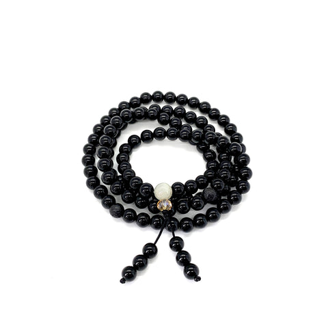 Onyx Mala for Power
